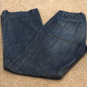 GAP denim trousers with wide legs